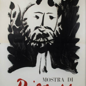 picasso manifesto prima mostra italia